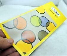 Vivitar Lens Filter Guide Brochure  English 1974 vintage
