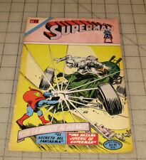 "SUPERMAN (Oct 1974) ""SPANISH"" Mexican/Novaro Mid-Grade Condition Comic"