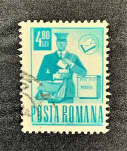 Briefmarke POSTA ROMANA Rumänien 4,80 LEI