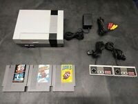 Nintendo Entertainment System NES System with Mario 1-3 Mint Condition Console