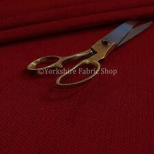 New Soft Texture Bubble Velvet Like Chenille Furnishing Upholstery Fabric Red
