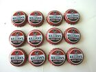 Lot Of 12 Killian's Irish Killians Red Beer Cap Crown Clean No Dents