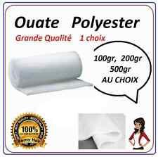 Ouate polyester blanche poids au choix   100,200,500g/m2 l150cm PROMOTION