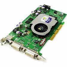 Rare NVIDIA Quadro FX1100 8x Dual DVI-I  128MB AGP Graphics Card
