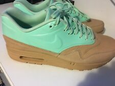 90c26c02a347 Nike Air Max 1 VT QS Vachetta Tan Arctic Green Mint UK 8.5