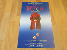 SAME OLD MOON by Geraldine Aron GLOBE Theatre Poster