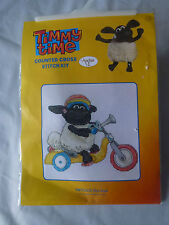 BNIP TIMMY TIME BY ANCHOR COUNTED CROSS STITCH KIT BIKE RIDE TMT0005