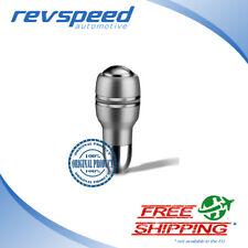 MOMO Automatico Silver Satin Gear Shift Knob For Automatic Transmission w/ Bu