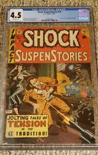 EC SHOCK SUSPENSTORIES #14 1954 CGC 4.5 SENATE INVESTIGATION HEARING PRE-CODE