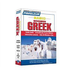 NEW 5 CD Pimsleur Learn to Speak Basic Greek (Modern) Language