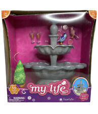 My Life As Fountain 10 piece Play Set for 18 Inch Doll Real Working Fountain New
