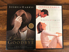 Joshua Harris Lot Romance & Courtship Boy Meets Girl, I Kissed Dating Goodbye