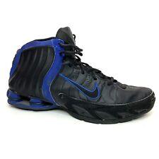 Nike Shox Flight Lethal TB Zoom Basketball Sneakers Size 13 Black Blue 2005 VC