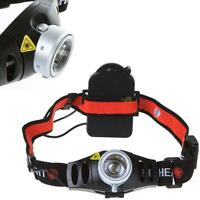 Ultra Bright 500 Lumen CREE Q5 LED Zoomable Headlamp Headlight for Outdoor ^f