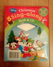 New Disney Sing-Along Christmas Book and CD Includes 10 Songs
