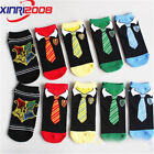 3/5 Pairs Girls Womens Cotton Socks Lot Harry Potter Casual Dress Ankle Socks