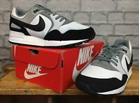 NIKE MENS UK 7 EU 41 AIR PEGASUS 89 WHITE GREY BLACK TRAINERS RRP £80