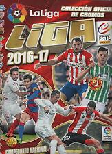 liga este 2016/17  COLECCION COMPELTA sin albun