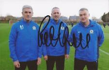 BLACKBURN: ROB KELLY SIGNED 6x4 PORTRAIT PHOTO+COA