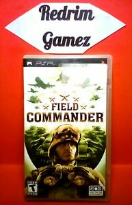 Field Commander PSP Video Games