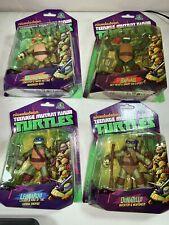 Giochi Preziosi TMNT Full Set of 4 Teenage Mutant Ninja Turtles 2013 Figures NIB