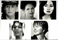 1995 Vintage Photo Collage of Nominees 47th Emmy Award Lead Actress Miniseries