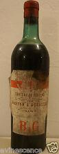 Vin Chateau DE FERRAND 1944 Saint Emilion Bordeaux rouge Grand Cru Classé GCC