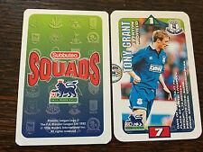 Subbuteo Squads 1996 Trading Card: Everton - TONY GRANT