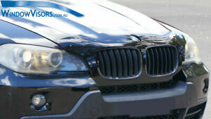 Premium Quality Bonnet Protector - Tinted Glass - for BMW X5 E70 2007-2013