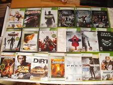 19 X-Box 360 Video Games