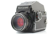 【Exc+5】 Mamiya M645 + sekor C 80mm F2.8 PD Prism Finder 120 From JAPAN #665
