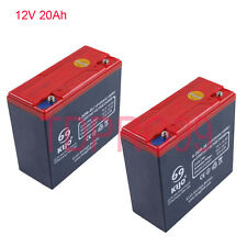 Pair of  12V 20AH AGM DEEP CYCLE Battery SCOOTER GOLF CART BUGGY wheelchair ATV