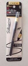 Loreal Infallible Never FAIL Silky Pencil Eyeliner Silkissime #200 Black