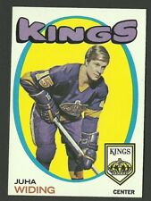 Juha Widing Los Angeles Kings Rookie RC 1971-72 Topps Hockey Card #86 NM