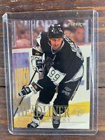 Wayne Gretzky Hockey Card #4 Fleer Los Angeles Kings NHL HOF SP Free Ship MINT