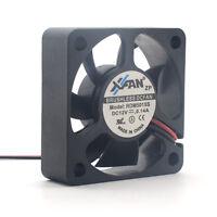 Xinruilian XFan RDM5015S DC12V 0.14A 50mm Cooling Fan 2Pin 50x50x15mm