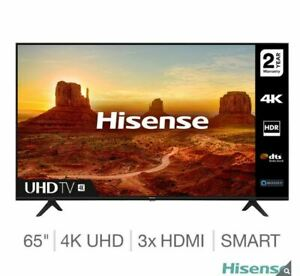 Hisense 65A7100FTUK 65 Inch 4K Ultra HD Smart TV Brand New Free Delivery