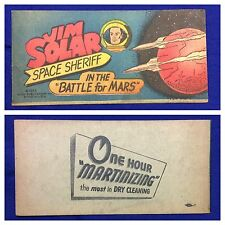 "1953 ""John Solar Space Sheriff battle for Mars"" Premium Comic book (Martinizing)"