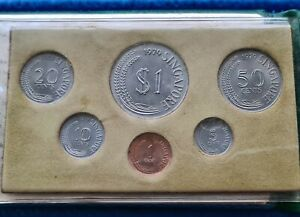 1979 Singapore Uncirculated Coin Set