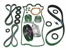 Timing Belt Water Pump Kit COMPLETE TENSIONERS SEALS Toyota Paseo 92 93 94 95