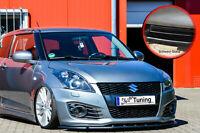 Frontspoiler Schwert Cuplippe aus ABS für Suzuki Swift Sport FZ/NZ Schwarz Glanz