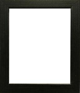 Black Photo Frame Picture Frame Poster Size Frame Wooden Effect