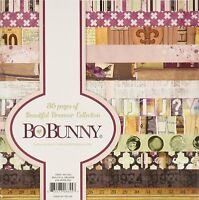 """BO BUNNY BEAUTIFUL DREAMER COLLECTION 6"""" X 6"""" PAPER PACK 36 SHEET PAD 12 DESIGNS"""