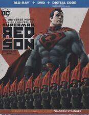 SUPERMAN RED SON BLURAY & DVD & DIGITAL SET with Jason Isaacs & Tara Strong