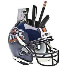 UTSA ROADRUNNERS NCAA Schutt Mini Football Helmet DESK CADDY