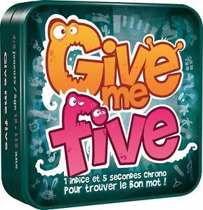 Asmodee - Give Me Five  Ne convient pas aux enfants de moins de 12 ans