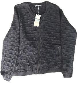 M/S zip up cardigan Ladies New size 14