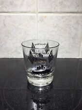 Queen Mary Drinking Glass