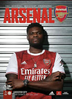 Arsenal v Leicester City 2020/21 Premier League programme In Stock Now