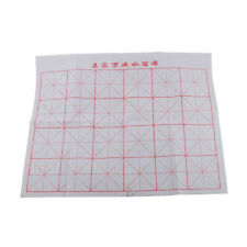 Water Writing Cloth Gridded Magic Cloth Chinese Calligraphy Rolled Folded